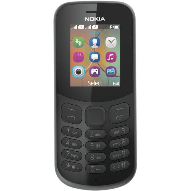 Nokia 130 2017 Черный, 2 SIM