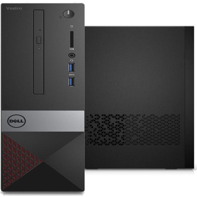 Системный блок Dell Vostro 3268 Intel Core i3, 3900МГц, 4Гб RAM, 500Гб, Win 10 Pro компьютер dell optiplex 5050 intel core i3 7100t ddr4 4гб 128гб ssd intel hd graphics 630 linux черный [5050 8208]