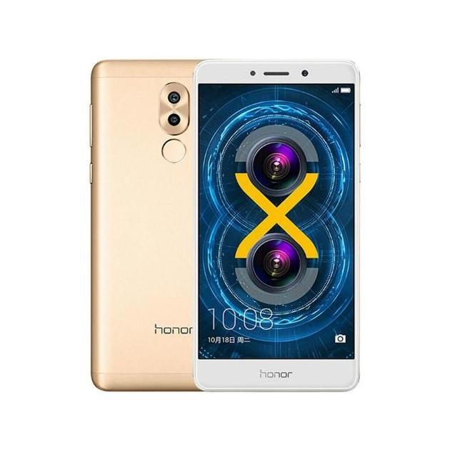 Смартфон Huawei Honor 6X Золотой смартфон huawei на 2 сим карты с 3g и lte