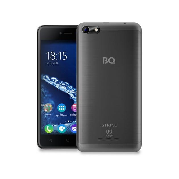 Смартфон BQ-Mobile BQ 5058 Strike Power Easy Серый bq mobile bq bqs 5050 strike selfie розовый