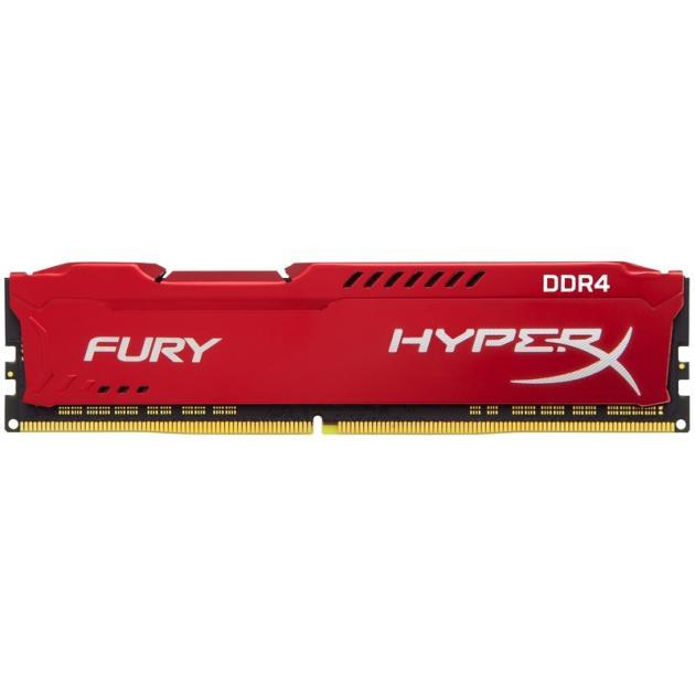 Kingston HyperX FURY HX424C15FR16 DDR4, 16GB, PC4-19200, 2400, Белый