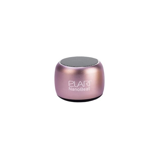 Портативная колонка Elari NanoBeat Розовый аксессуар чехол elari для elari cardphone и iphone 6 plus blue