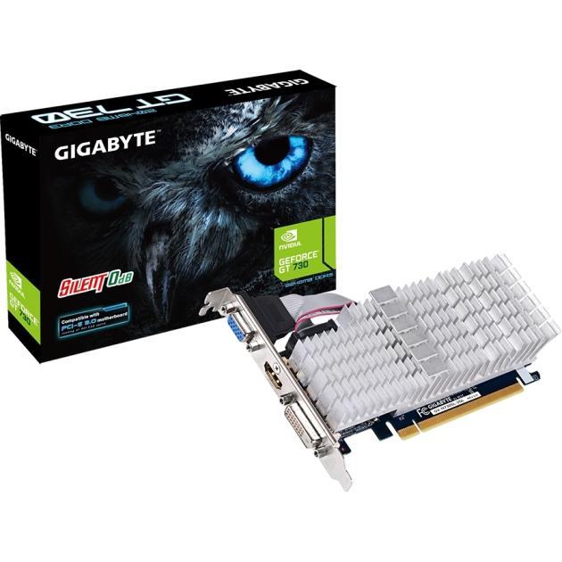 Видеокарта Gigabyte GeForce GT 730 2048Мб, DDR3, 902MHz, GV-N730SL-2GL gigabyte gigabyte gv n610 2gi 2048мб ddr3