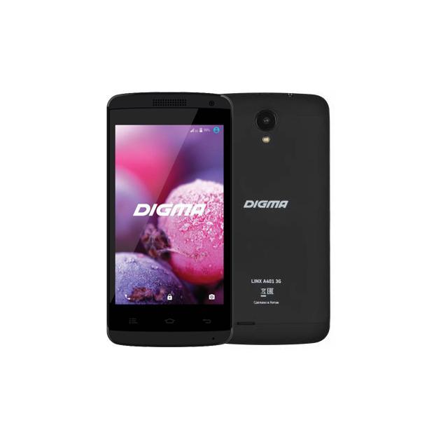 Смартфон Digma Linx A401 Черный digma linx a420 3g 4гб черный dual sim 3g