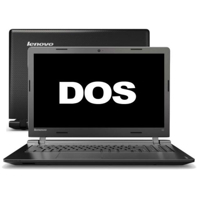 "Lenovo IdeaPad 100-15IBY 80MJ009TRK 15.6"", Intel Celeron, 2160МГц, 2Гб RAM, DVD нет, 250Гб, Черный, Wi-Fi, DOS, Bluetooth"