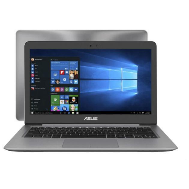 Ноутбук Asus Zenbook UX310UQ-FC203T 13.3, Intel Core i3, 2300МГц, 4Гб RAM, 128Гб, Серый, Windows 10