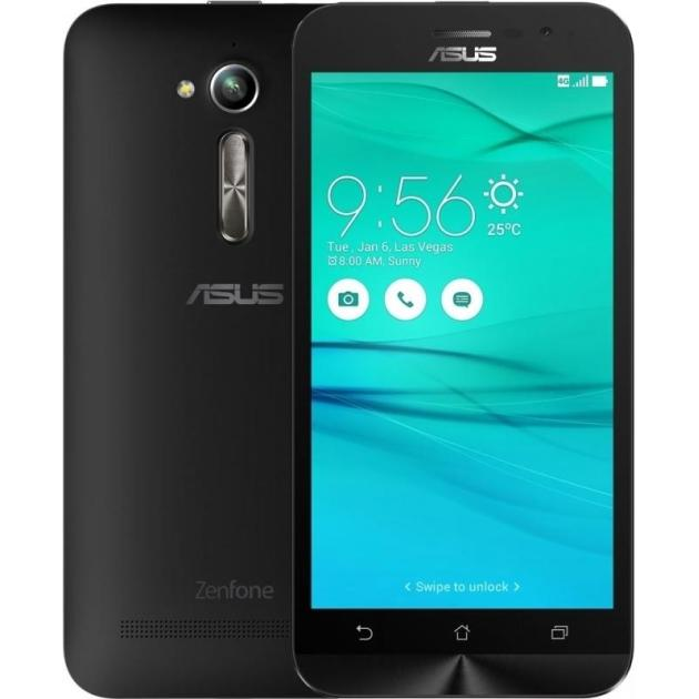 Смартфон Asus Zenfone Go ZB500KL 32Гб, Черный смартфон asus zenfone go zb500kl gold