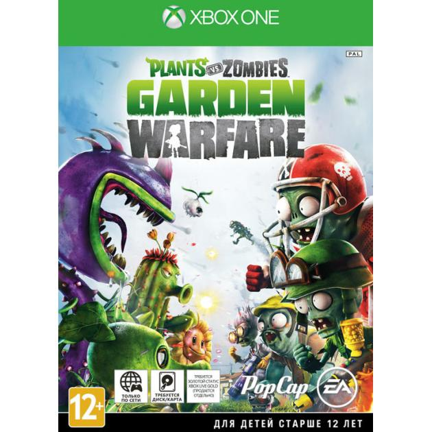 Видеоигра Electronic Arts Plants vs. Zombies Garden Warfare Xbox One, Русская документация игра plants vs zombies garden warfare 2 [ps4]