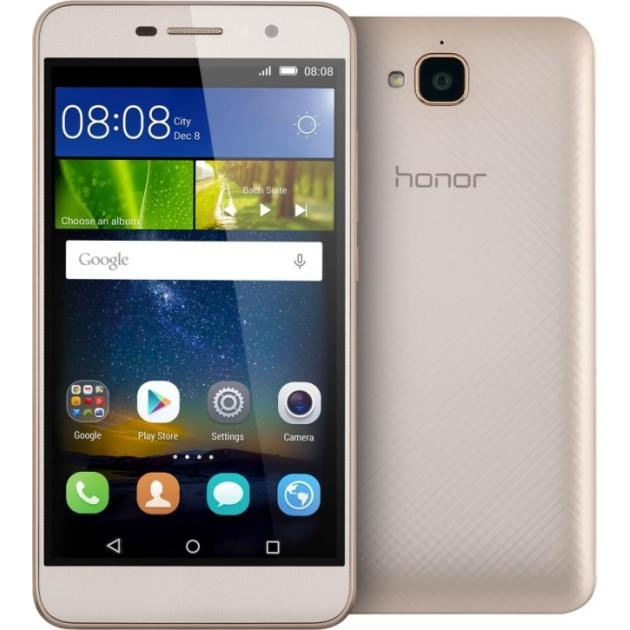 Смартфон Huawei Honor 4C Pro 16Гб, Золотой, Dual SIM, 4G (LTE), 3G digma linx a420 3g 4гб белый dual sim 3g