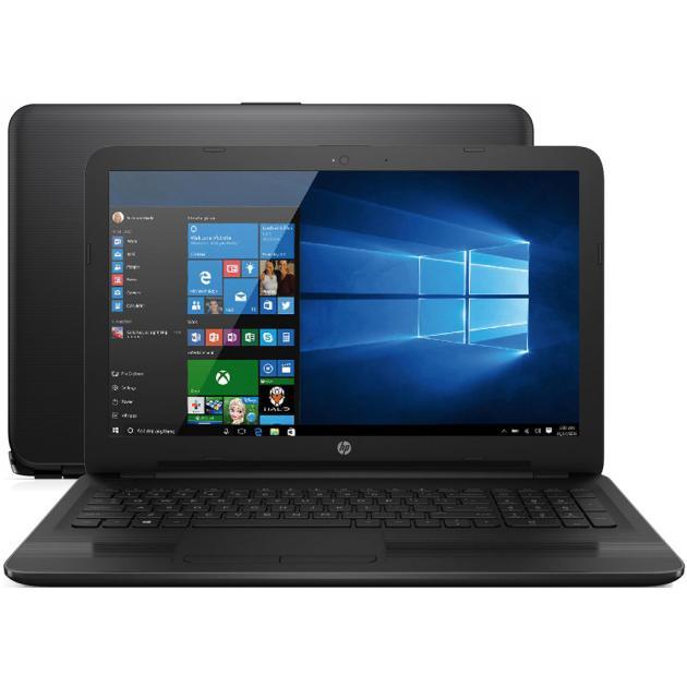 Ноутбук HP 15-ay000 15.6, Intel Pentium, 1600МГц, 4Гб RAM, DVD нет, 500Гб, Черный, Wi-Fi, Windows 10 Домашняя, Bluetooth hp 15 w100ur intel® 2300 мгц 8 гб 15 6 wi fi