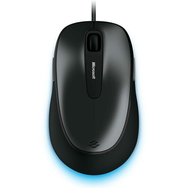 Microsoft Comfort 4500 4FD-00024 Черный, USB