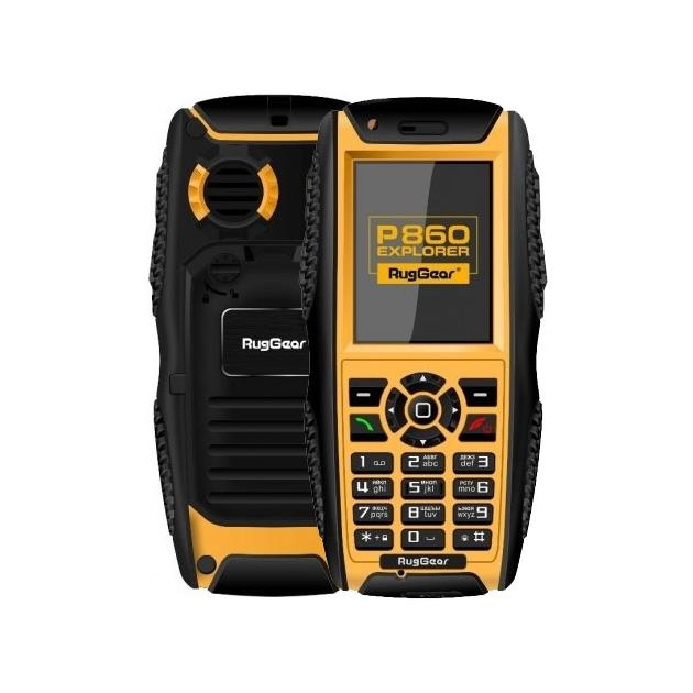 Мобильный телефон RugGear P860 Черный, 2 SIM inew m1 quad core android 4 2 wcdma bar phone w 5 0 ips wi fi and gps black