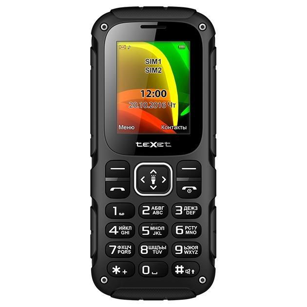 Мобильный телефон teXet TM-504R Black/Green texet tm b117 black orange