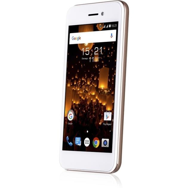 Смартфон Fly FS459 Nimbus 16 Золотой смартфон fly nimbus 10 fs512 черный