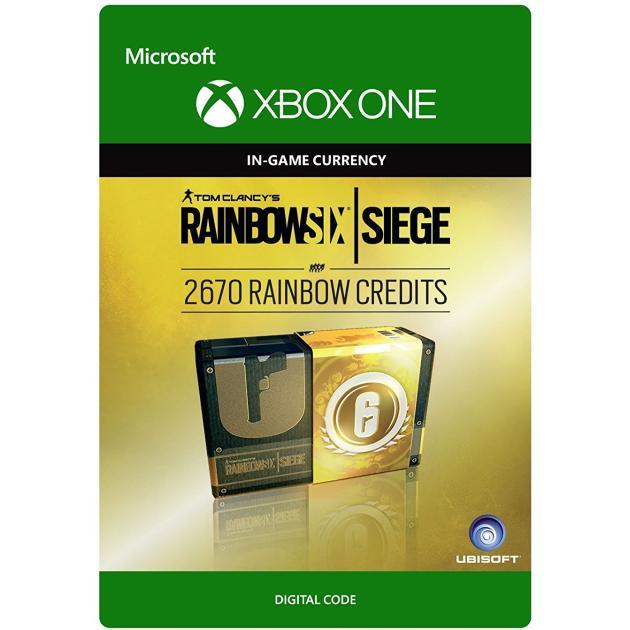 Видеоигра Ubisoft Tom Clancy's Rainbow Six Siege Currency pack 2670 Rainbow credits