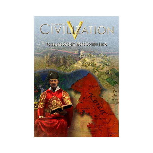 Видеоигра Софтклаб Sid Meier's Civilization V. Korea and Wonders of the Ancient World Combo Pack кристофер хогвуд the academy of ancient music christopher hogwood the academy of ancient music beethoven the symphonies 5 cd