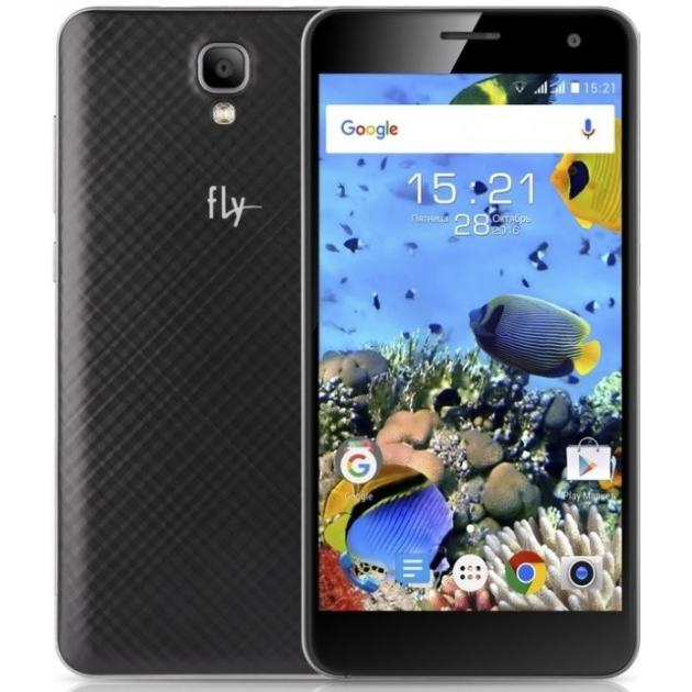 Смартфон Fly FS514 Черный