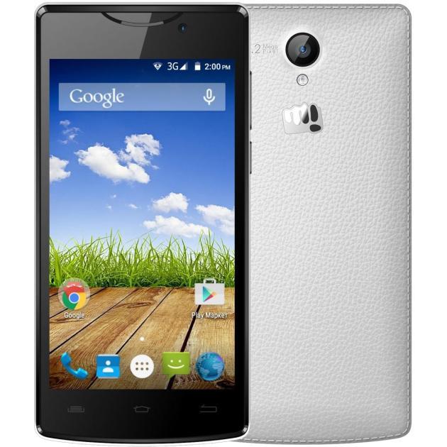 Смартфон Micromax Bolt D320 Белый, 4Гб, 2 SIM, 3G digma linx a420 3g 4гб белый dual sim 3g