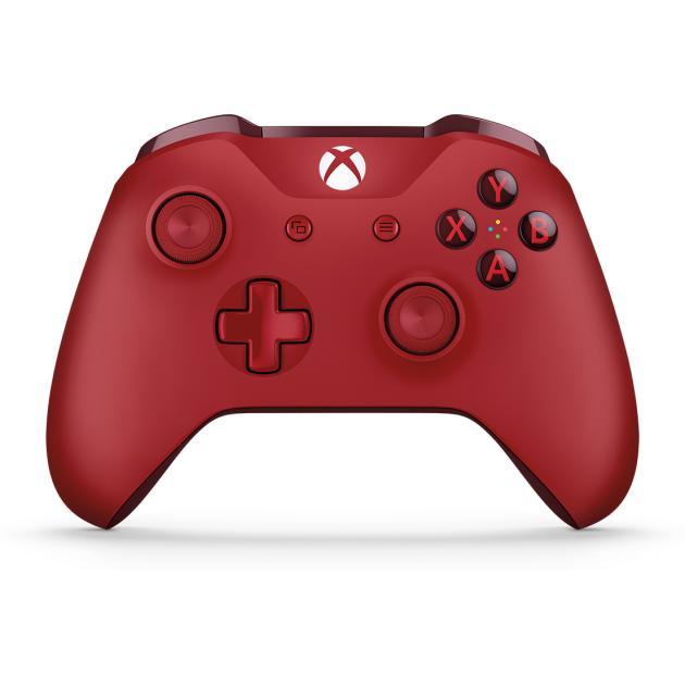 все цены на  Аксессуар для Xbox Microsoft Геймпад Xbox One Красный  онлайн