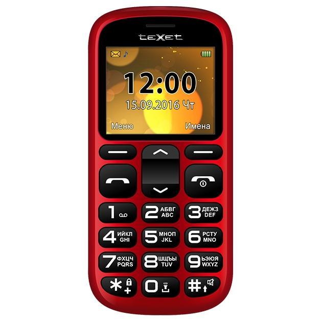 TeXet TM-B306 Красный
