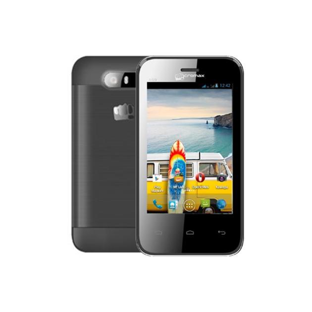 Смартфон Micromax A59 0.512Гб, Серый, Dual SIM, 3G смартфон micromax bolt q379 yellow