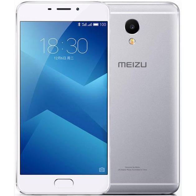 Смартфон Meizu M5 Note 16Гб, Серебристый смартфон meizu m5 note m621h 16gb серебристый