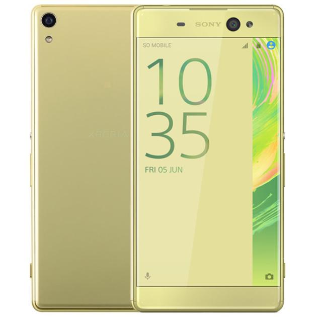 Смартфон Sony Xperia XA Ultra Желтый, 1 SIM, 4G LTE, 3G смартфон sony xperia xa ultra lime gold android 6 0 marshmallow mt6755 2000mhz 6 0 1920x1080 3072mb 16gb 4g lte [f3211lime gold]