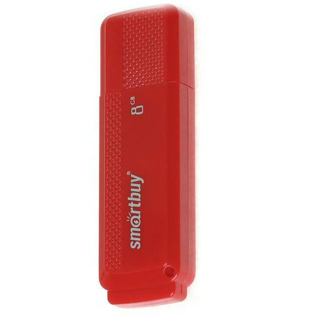 Smart Buy Dock 8Гб, Красный, USB 2.0
