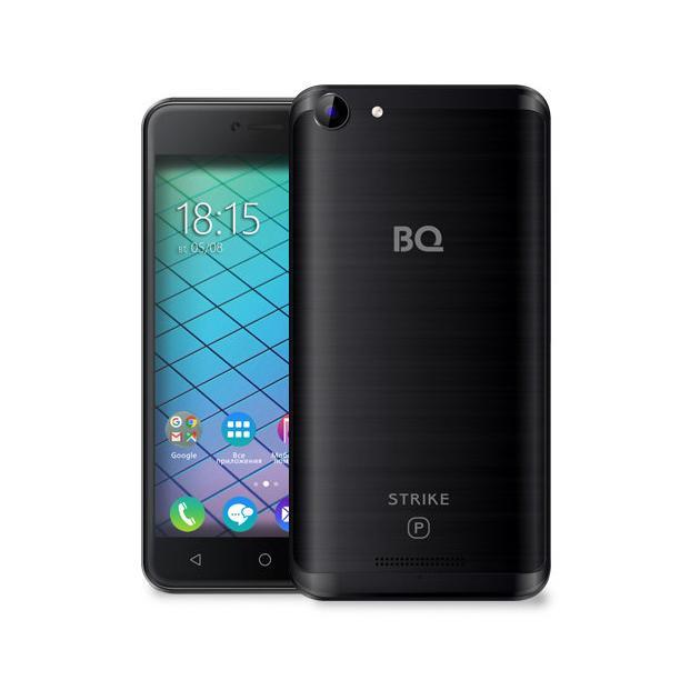 Смартфон BQ-Mobile BQ-5059 Strike Power Черный смартфон bq mobile bq 5059 strike power grey matt