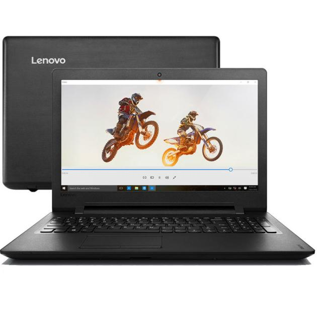 "Lenovo IdeaPad 110-15IBR 15.6"", Intel Pentium, 1600МГц, 4Гб RAM, 1000Гб, Черный, DOS"