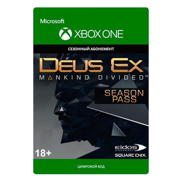 Видеоигра Square Enix Deus Ex: Mankind Dividend Season Pass deus ex