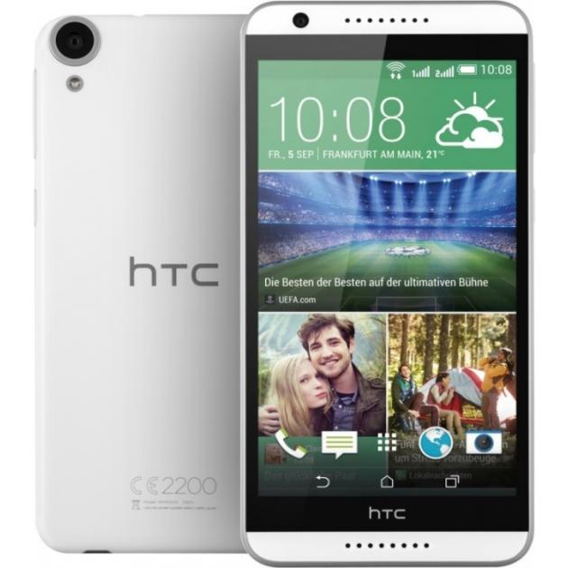 все цены на Смартфон HTC Desire 820G Dual Sim Белый онлайн