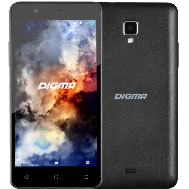 Смартфон Digma LINX A501 4G 8Гб, Черный, Dual SIM, 4G LTE, 3G digma linx a420 3g 4гб белый dual sim 3g