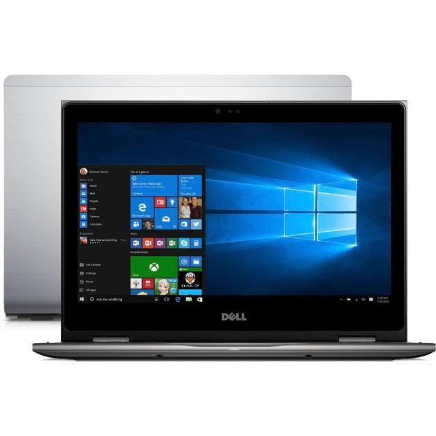Ноутбук Dell Inspiron 5378 13.3, Intel Core i5, 2500МГц, 8Гб RAM, DVD нет, 1Тб, Серый, Wi-Fi, Windows 10, Bluetooth ноутбук dell xps 12 ultrabook 12 5 intel core m5 1100мгц 8гб ram dvd нет 128гб черный wi fi windows 10 bluetooth
