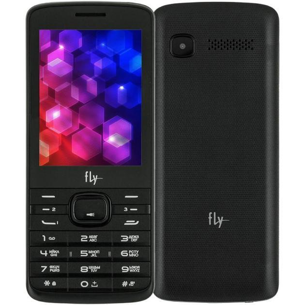 Мобильный телефон Fly TS113 Черный мобильный телефон fly ff178 32mb black