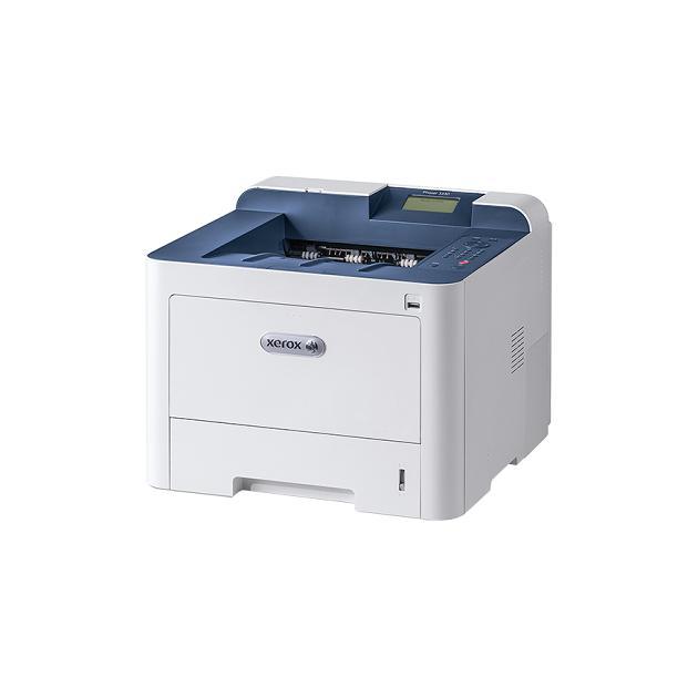 МФУ Xerox Phaser 3330 Лазерный \ светодиодный, Белый, Черно-белая, А4 принтер светодиодный