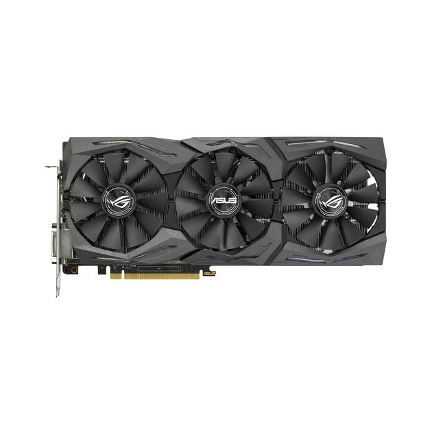 Видеокарта Asus NVIDIA GeForce GTX 1070 STRIX GAMING 8192Мб, GDDR5,1531MHz