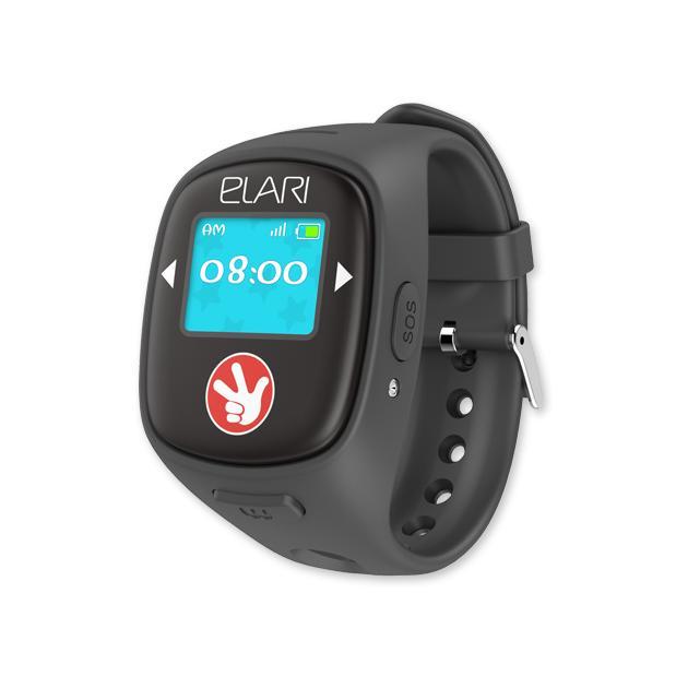 Умный часы и браслет Elari Fixitime 2 Черный аксессуар чехол elari для elari cardphone и iphone 6 plus blue