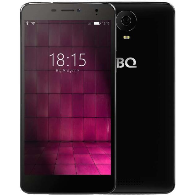 все цены на  Смартфон BQ-Mobile BQ 6050 Jumbo Черный  онлайн