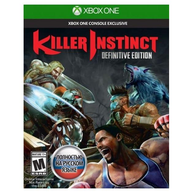 Видеоигра Microsoft Killer Instinct. Definitive Edition Xbox One видеоигра для xbox one microsoft deadrising 3 apocalypse edition
