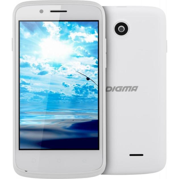 Digma Linx A420 3G 4Гб, Белый, Dual SIM, 3G