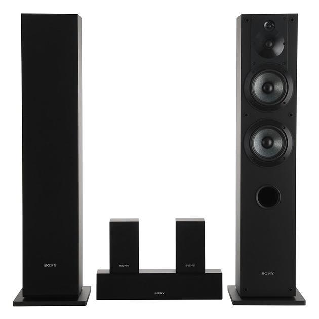 Sony SS-CS310CR Черный, 5.0, Дерево