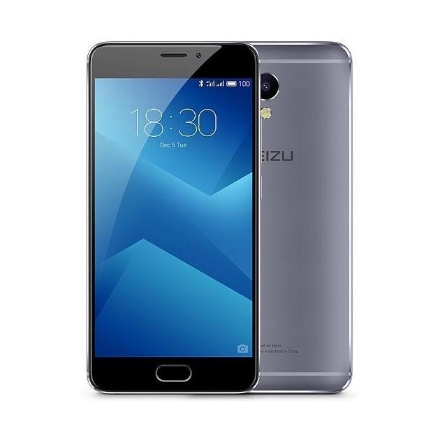 Смартфон Meizu M5 Note 32Gb Серый смартфон meizu m3 note 32gb silver white