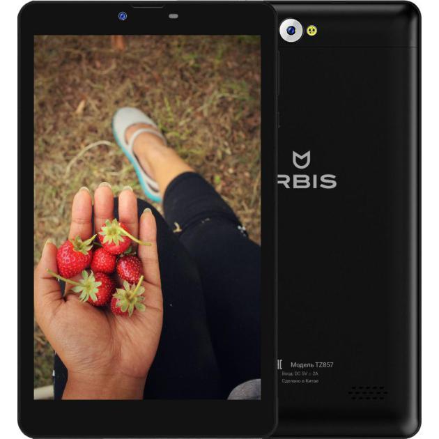 Irbis TZ857 Wi-Fi и 3G, Черный, 16Гб