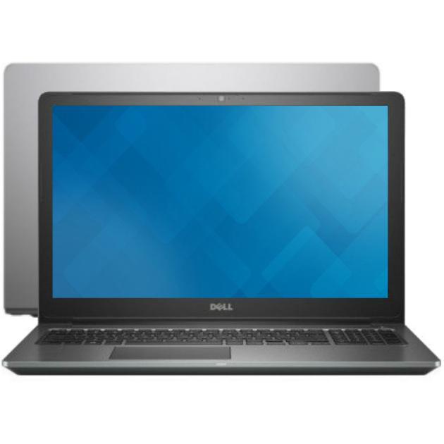 "Dell Vostro 5568-9968 15.6"", Intel Core i5, 2500МГц, 8Гб RAM, DVD нет, 256Гб, Серый, Windows 10 Домашняя"
