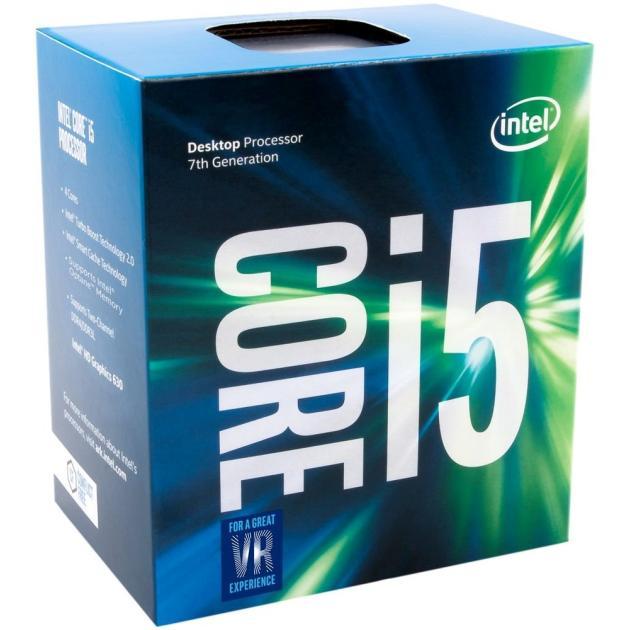 Процессор Intel Core™ i5-7500 3000МГц, Box компьютер dell optiplex 5050 intel core i3 7100t ddr4 4гб 128гб ssd intel hd graphics 630 linux черный [5050 8208]