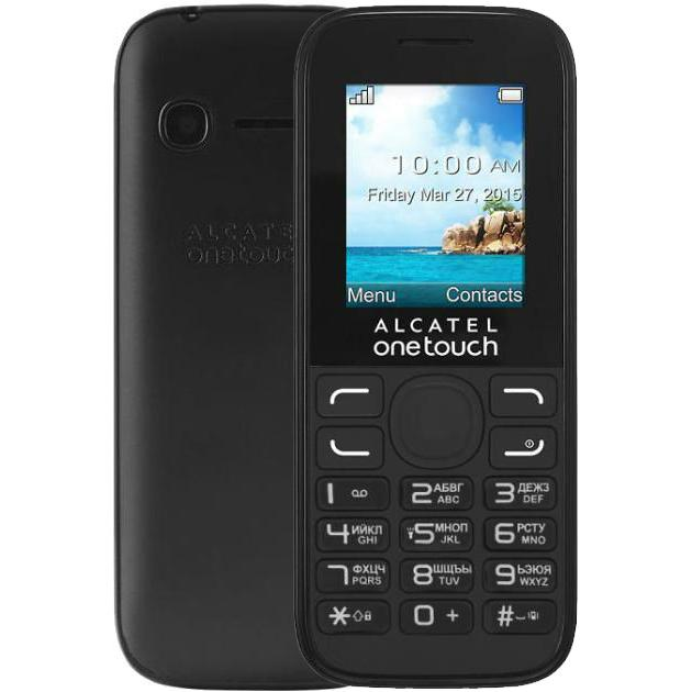 Alcatel One Touch 1052D Черный