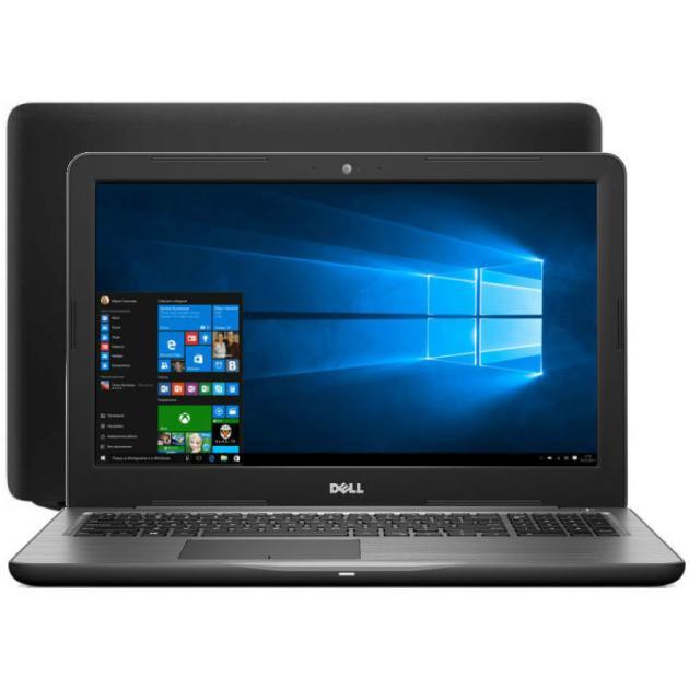 Ноутбук Dell Inspiron 5767-2693 17.3, Intel Core i5, 2500МГц, 8Гб RAM, DVD-RW, 1Тб, Черный, Wi-Fi, Windows 10, Bluetooth ноутбук dell xps 12 ultrabook 12 5 intel core m5 1100мгц 8гб ram dvd нет 128гб черный wi fi windows 10 bluetooth
