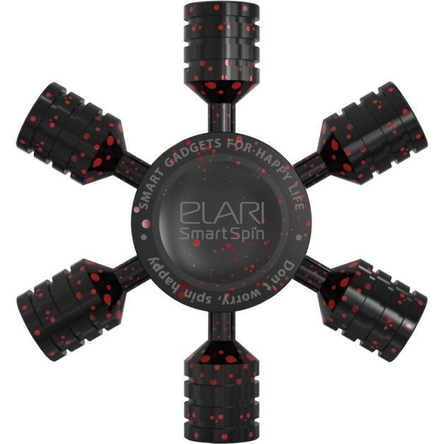 Необычный гаджет Elari 3D-спиннер Elari SmartSpin Model X Черный elari kidphone blue