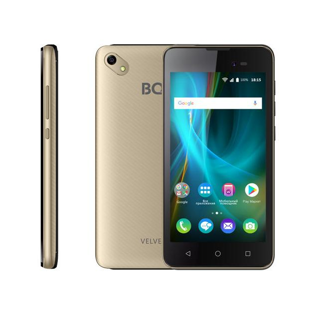 BQ Mobile BQ 5035 Velvet Золотой